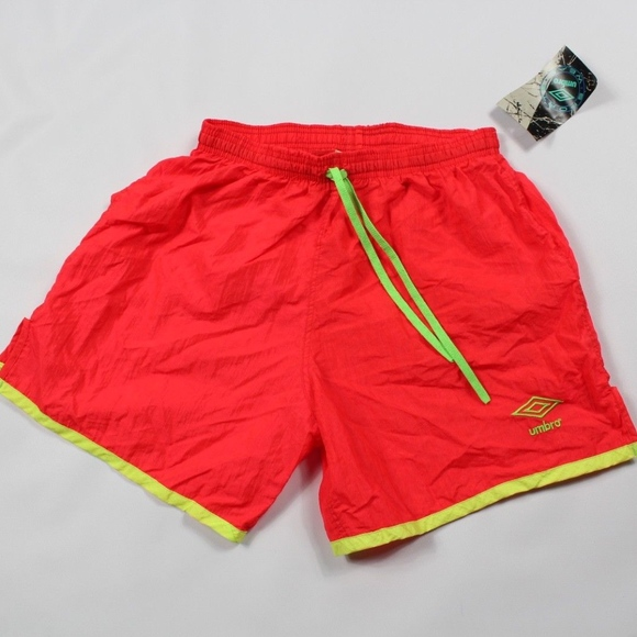 vintage umbro nylon shorts